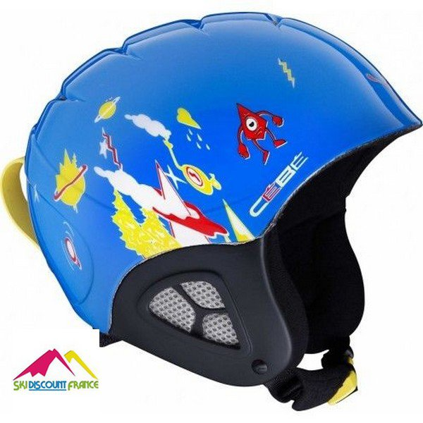 Casque de ski cébé pluma basics moutain galaxy
