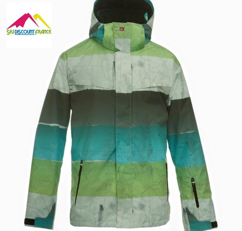 veste de ski snow quiksilver utility kkpsj473 neuve taille xl vestes ski snow adulte ski. Black Bedroom Furniture Sets. Home Design Ideas