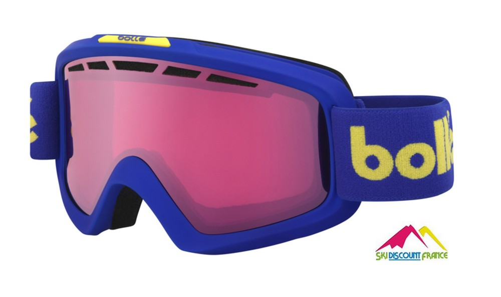 Masque de ski Bollé nova 2 Matte Blue Retro Cat2