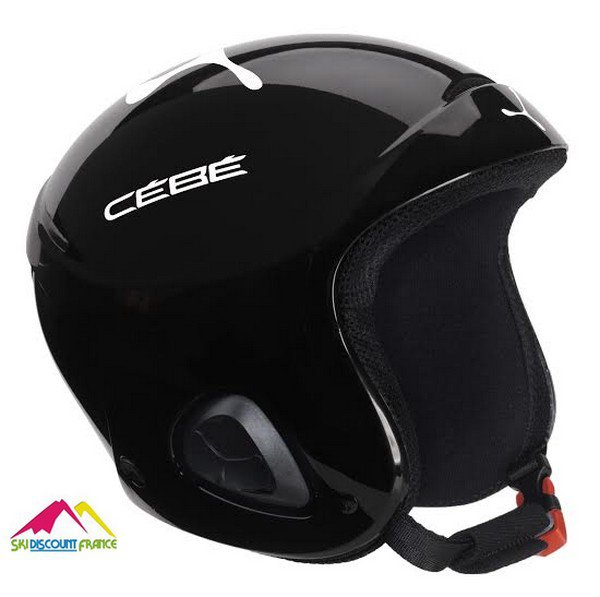 Casque de ski cébé Ellips Noir and White Logo