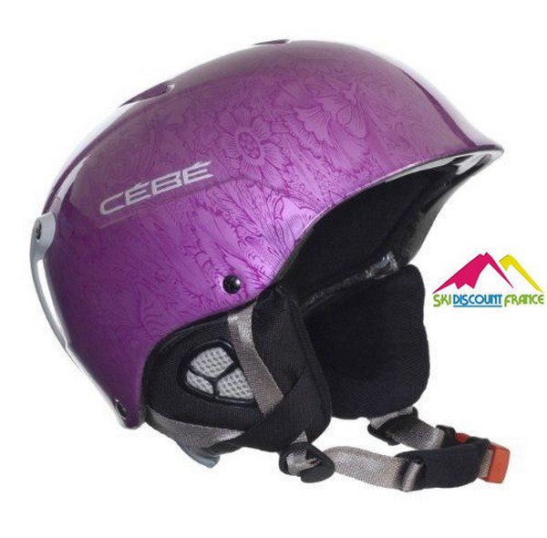 Casque de ski Cébé Contest Shiny Metallic Purple