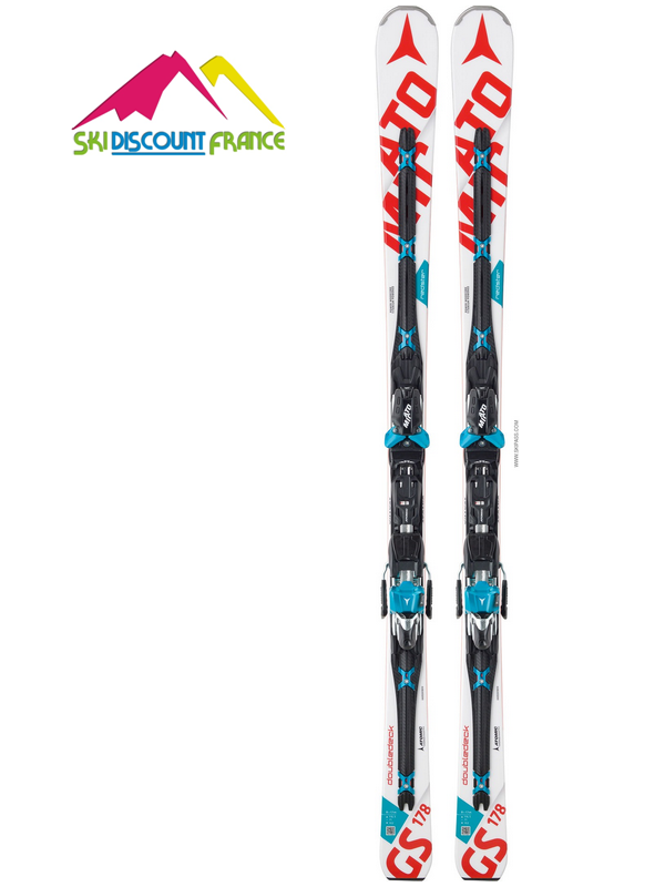 Pack Ski Neuf Atomic Redster Double Deck GS 2017 + Fixations X12 TL