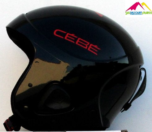 casque de ski c b ellips noir ado jr red logo ski. Black Bedroom Furniture Sets. Home Design Ideas