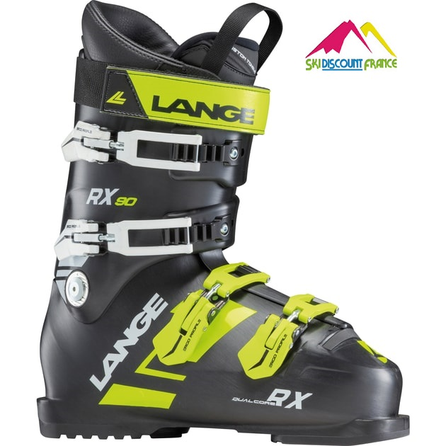 Chaussures de ski Neuves Lange RX 90 GT black lime 2018