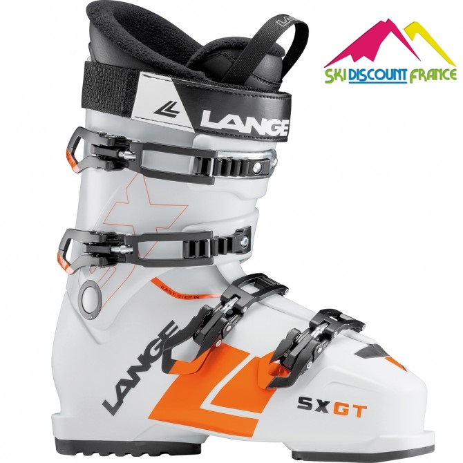 Chaussures de ski Neuves Lange SX GT RTL 2018 white orange