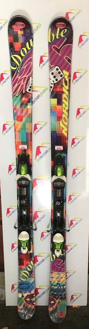 Ski Occasion Nordica Double Six Freestyle Parabolique