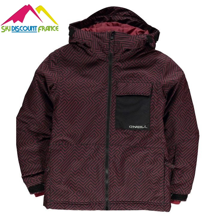 Veste de ski Neuve Oneill Newton Red Junior