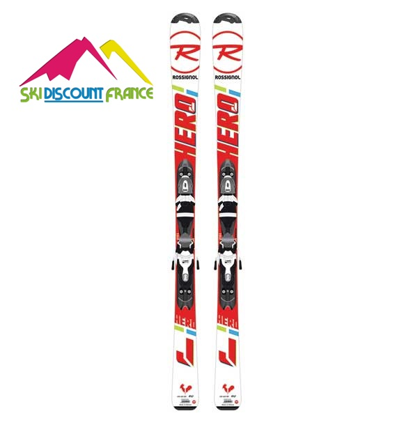 Pack Rossignol Hero Junior + Fixation Look XPRESS JR 7 B83 Junior