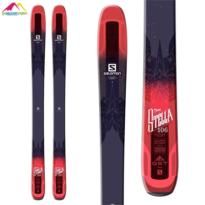 Ski Neuf Salomon The Stella 106 2018