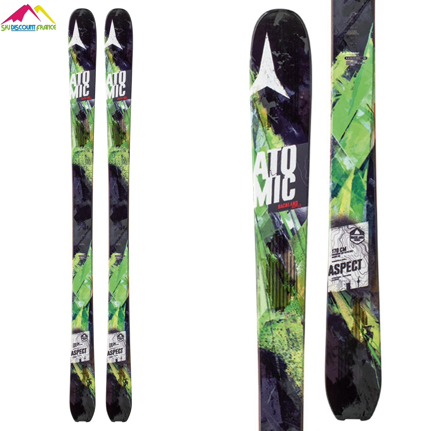 Ski de rando homme atomic backland descender