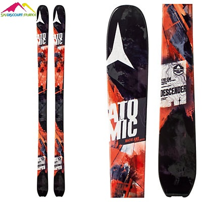 Ski Neuf Atomic Blackland Descender Noir Orange
