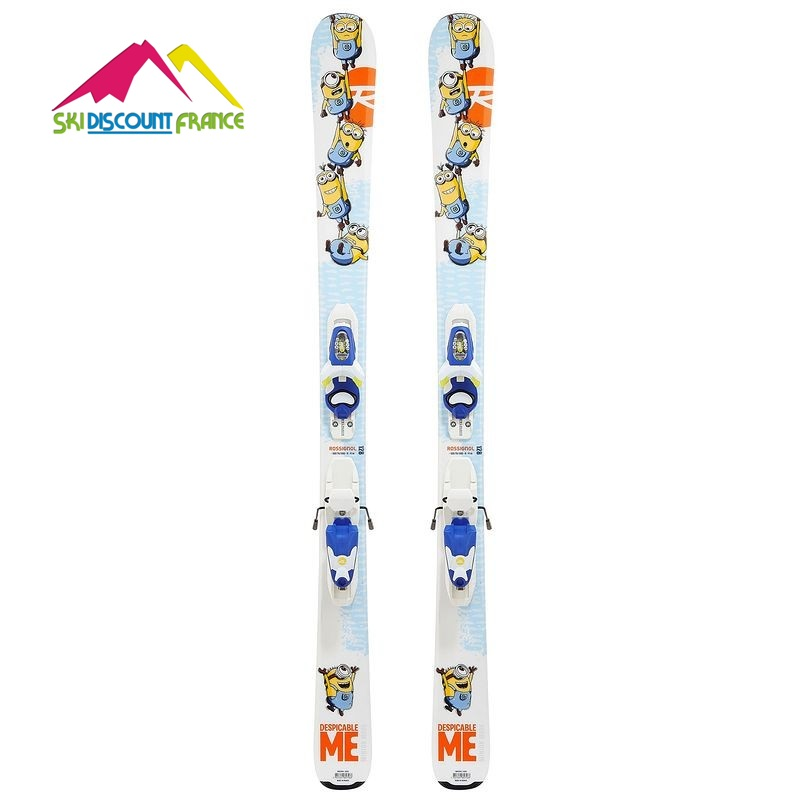Ski Neuf Rossignol Minion Plus + Fixations Look Kid X