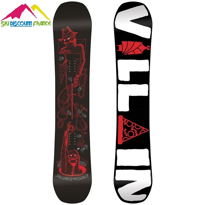 Snowboard Neuf The Villain 2017