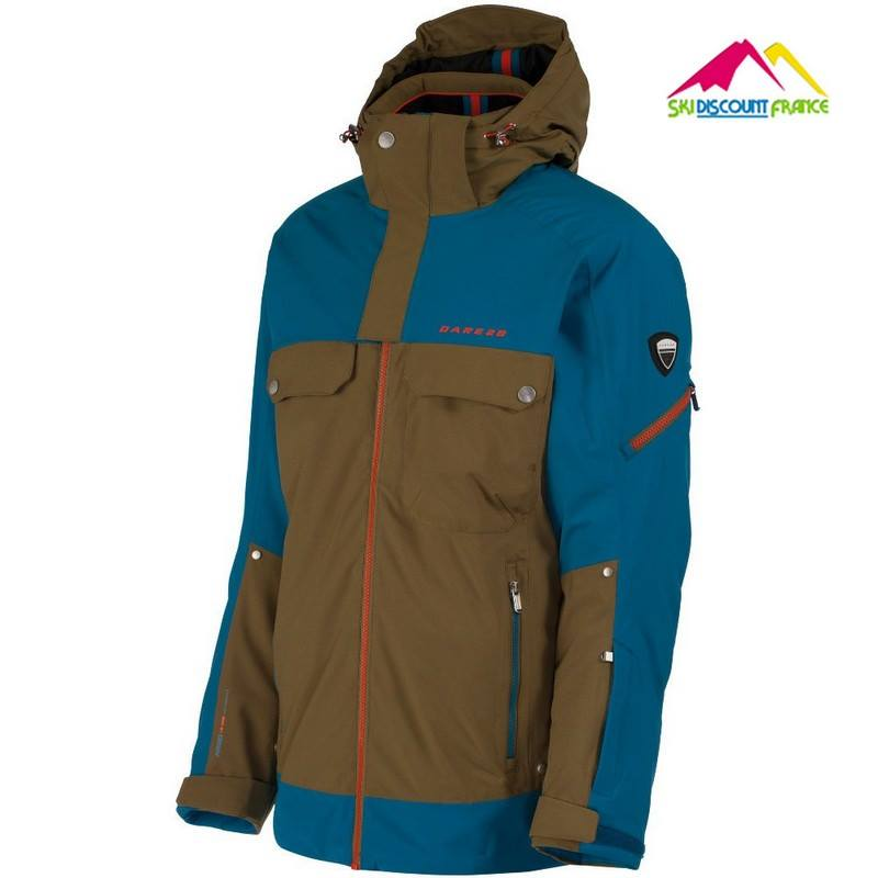 Veste de ski Neuve Dare 2B Abberation Jacket Methyl Utili Junior