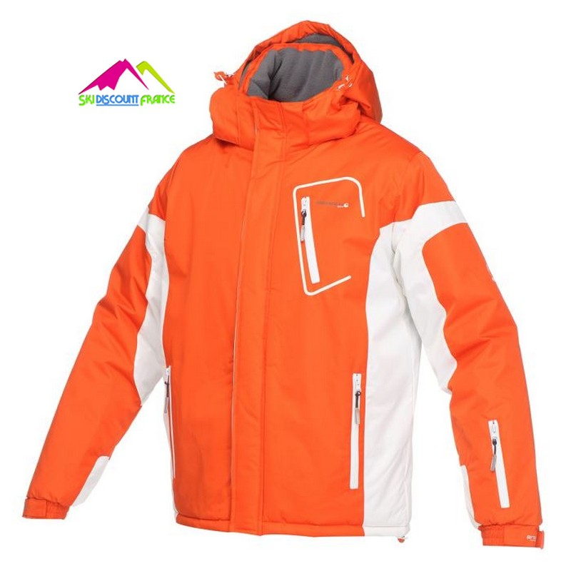 Veste de ski Junior chaude Broadpeak Horten Boy Orange