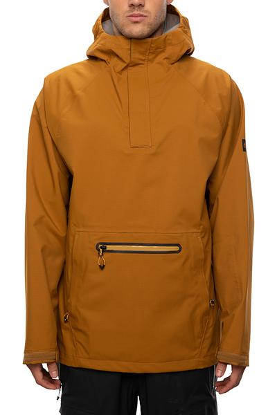 686 glcr 3l pike hoody golden brown
