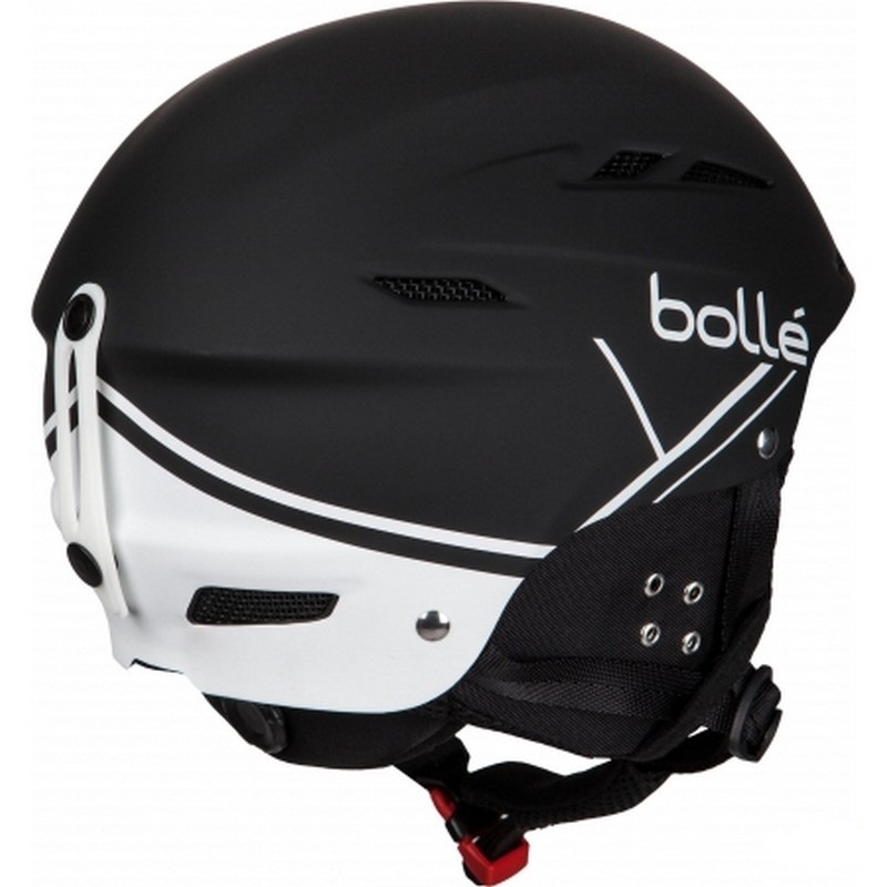 casque de ski bolle b fun soft black and white