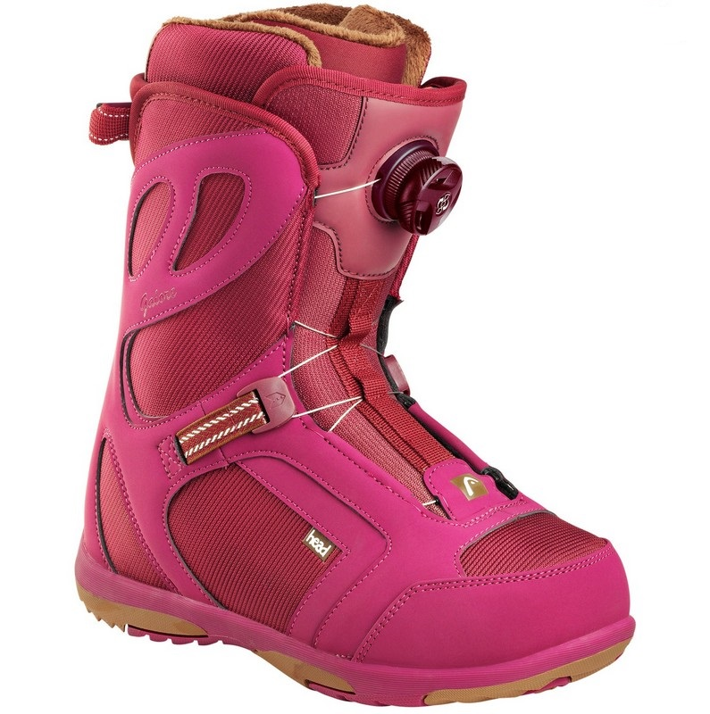 boots de snow femme boa head galore pro burgundy