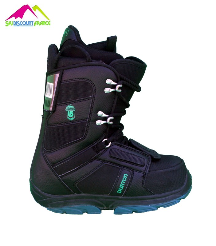 Boots de snowboard Junior progression youth black green