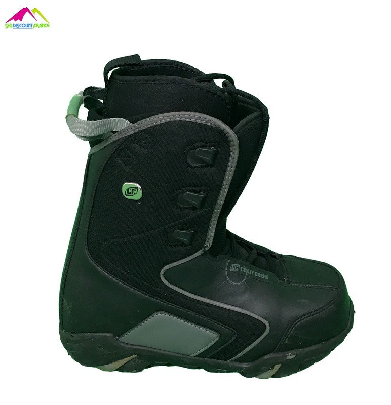 boots de snowboard occasion crazy creek black