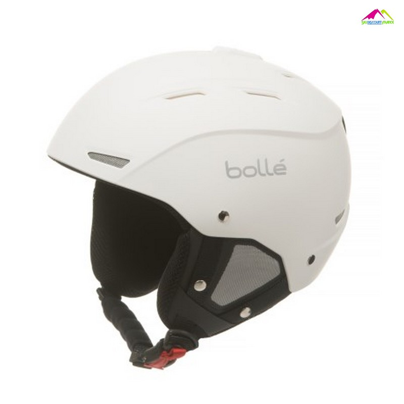casque de ski bolle backline soft white