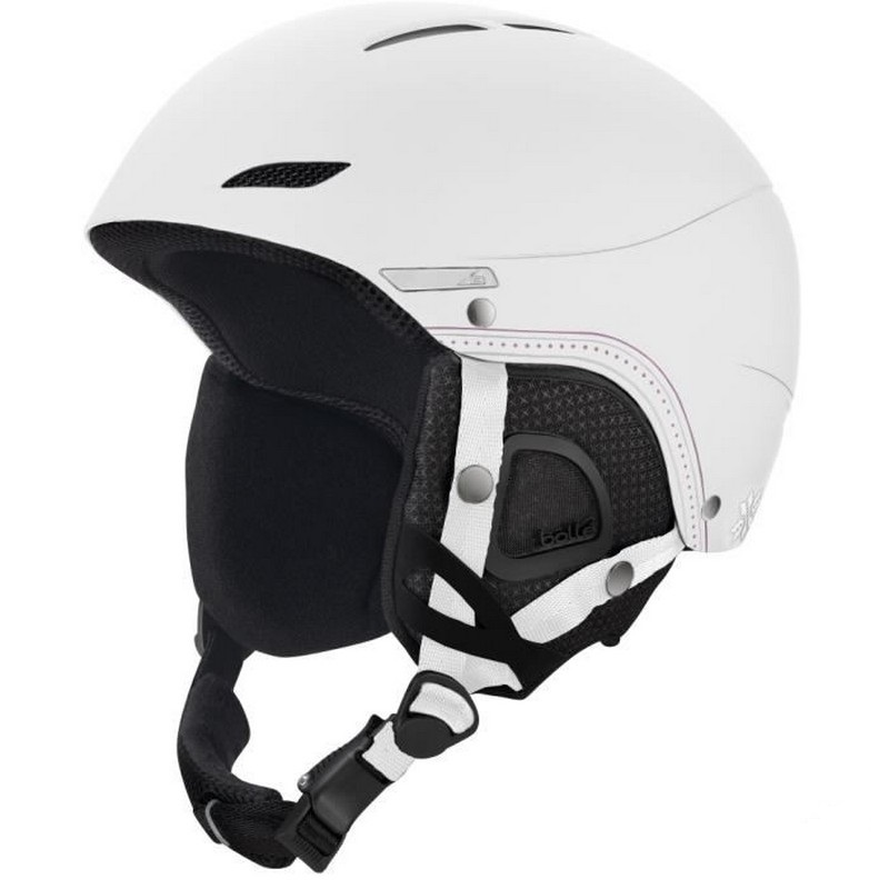 casque de ski bolle juliet soft white