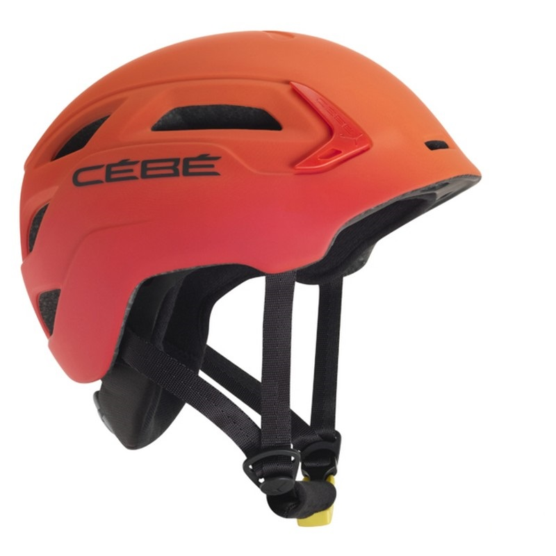 casque cebe trilogy red orange pas cher