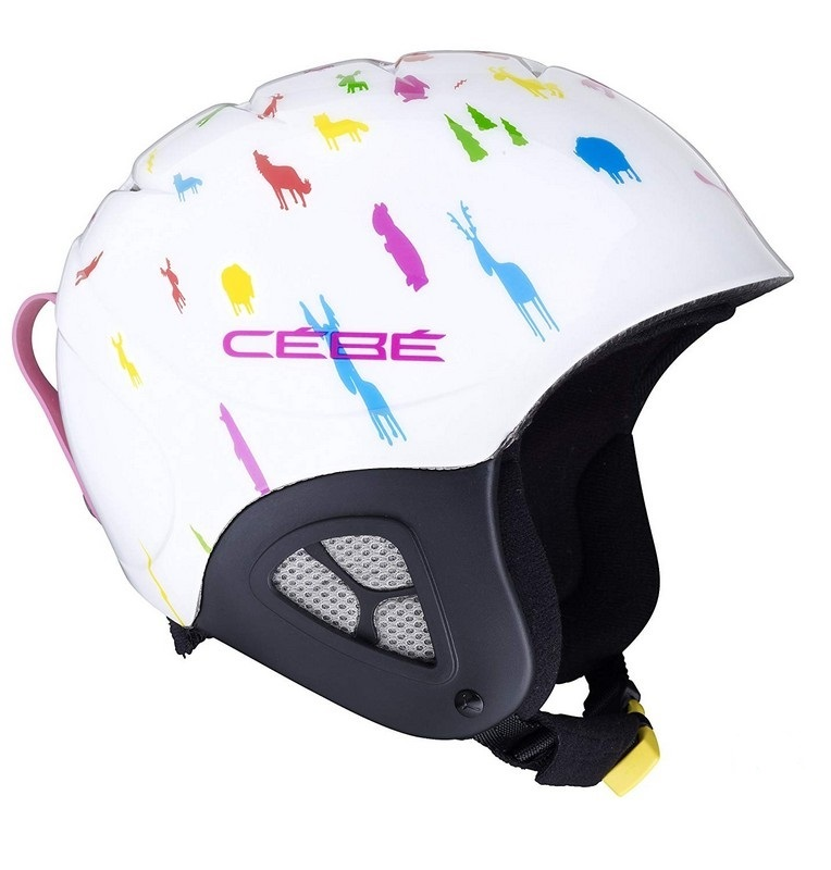 casque de ski enfant cebe pluma junior basics animals