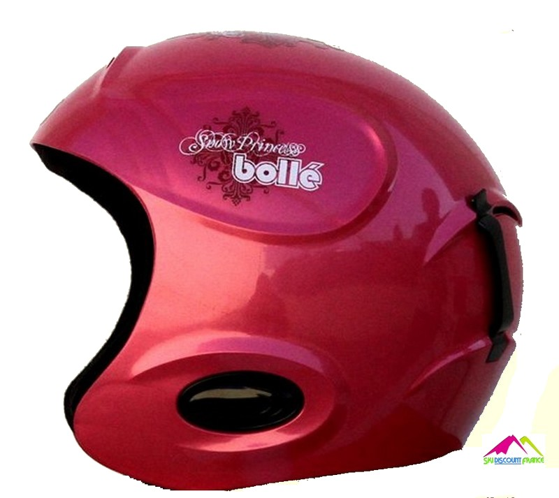 Casque de ski junior pas cher bolle twist kids shiny fuschia