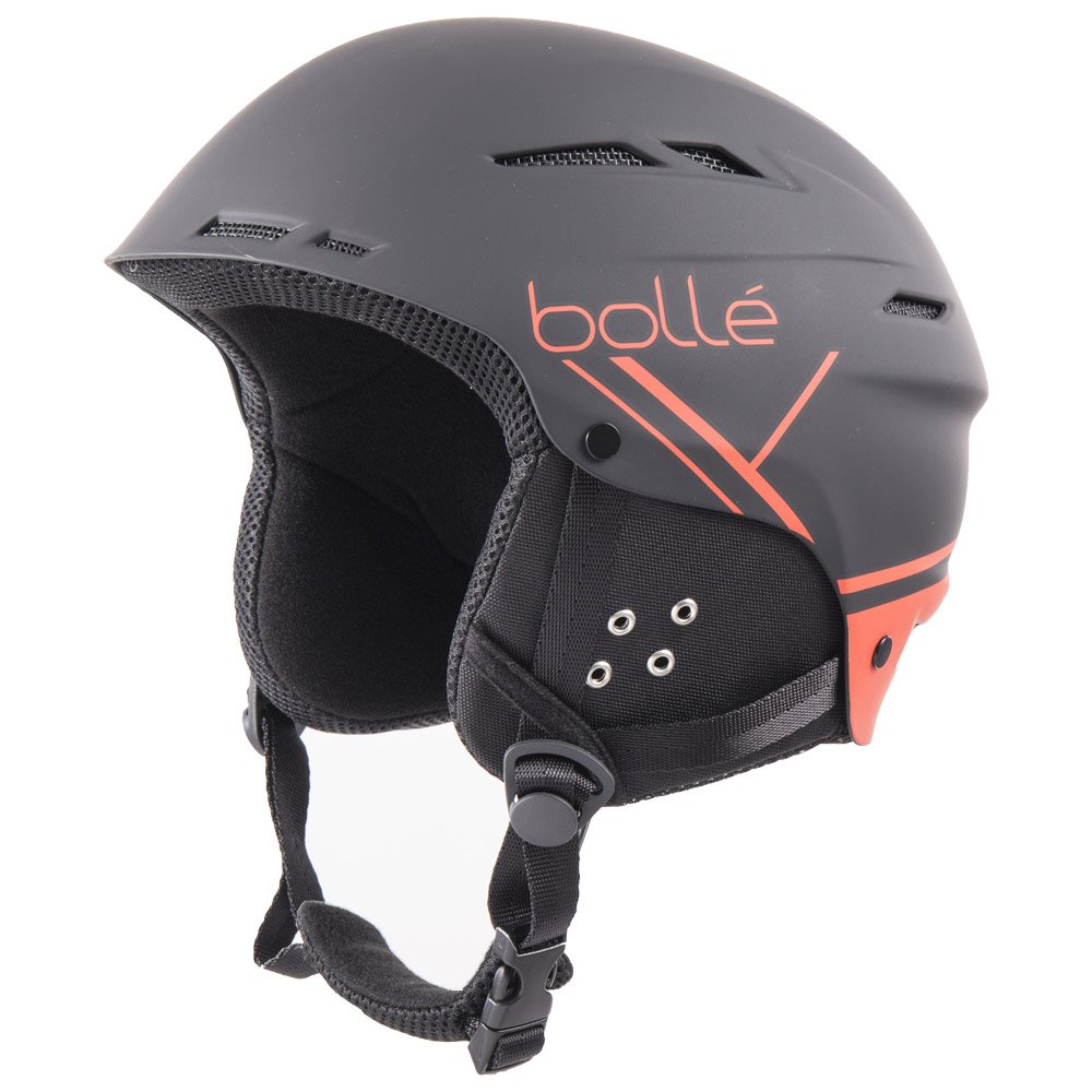 casque de ski bolle b fun soft black red
