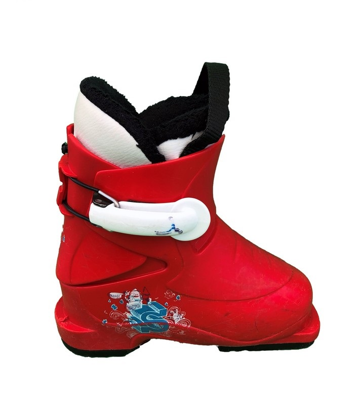 chaussures de ski enfant occasion salomon baby red