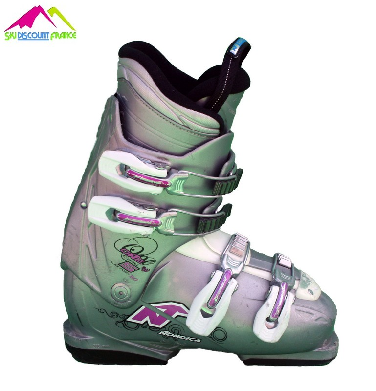 chaussures de ski femme occasion nordica easy one w grey pink