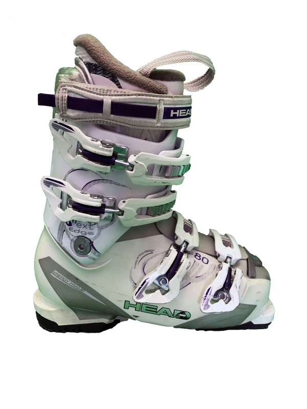 chaussures de ski femme occasion head next edge 80 purple white