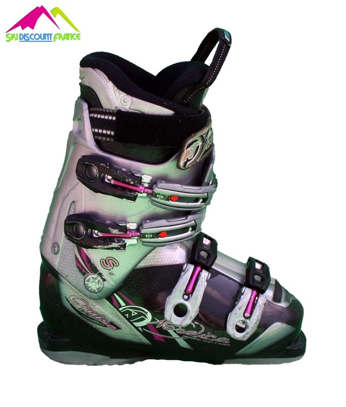 chaussures de ski femme occasion nordica cruise nps grey pink