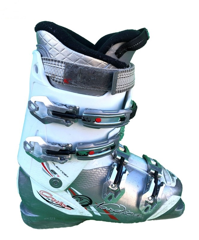 chaussures de ski occasion nordica cruise nfs grey red