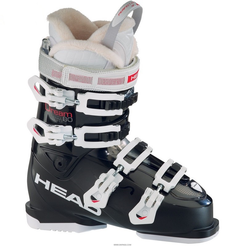 chaussures de ski femme head dream 80 black 2016