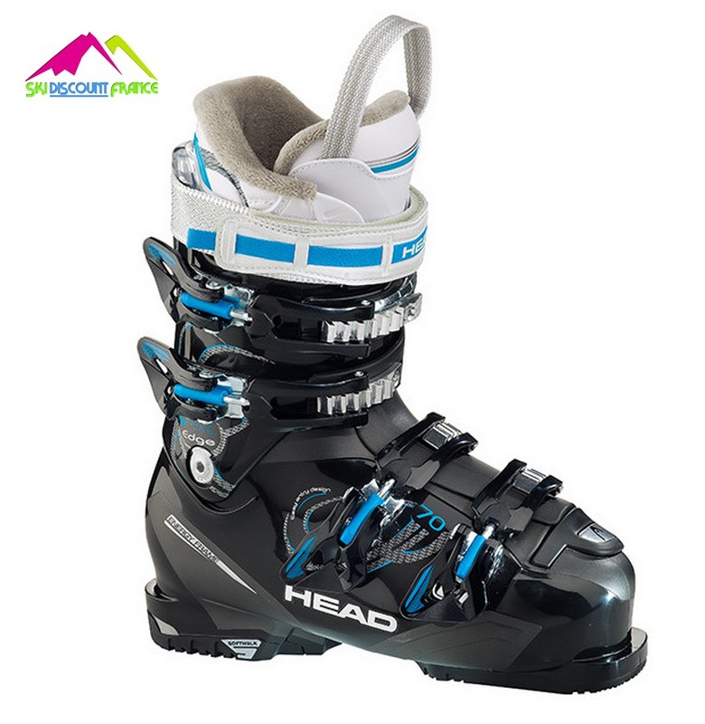 chaussures de ski head next edge 70 black blue 2016