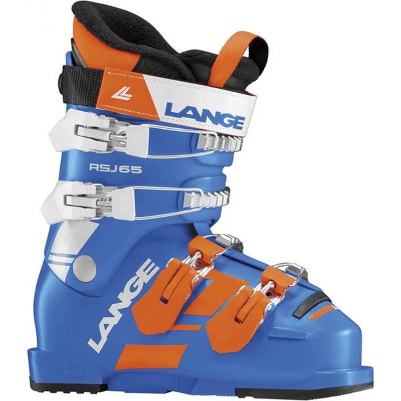 chaussures de ski junior neuves lange rsj power blue 2019