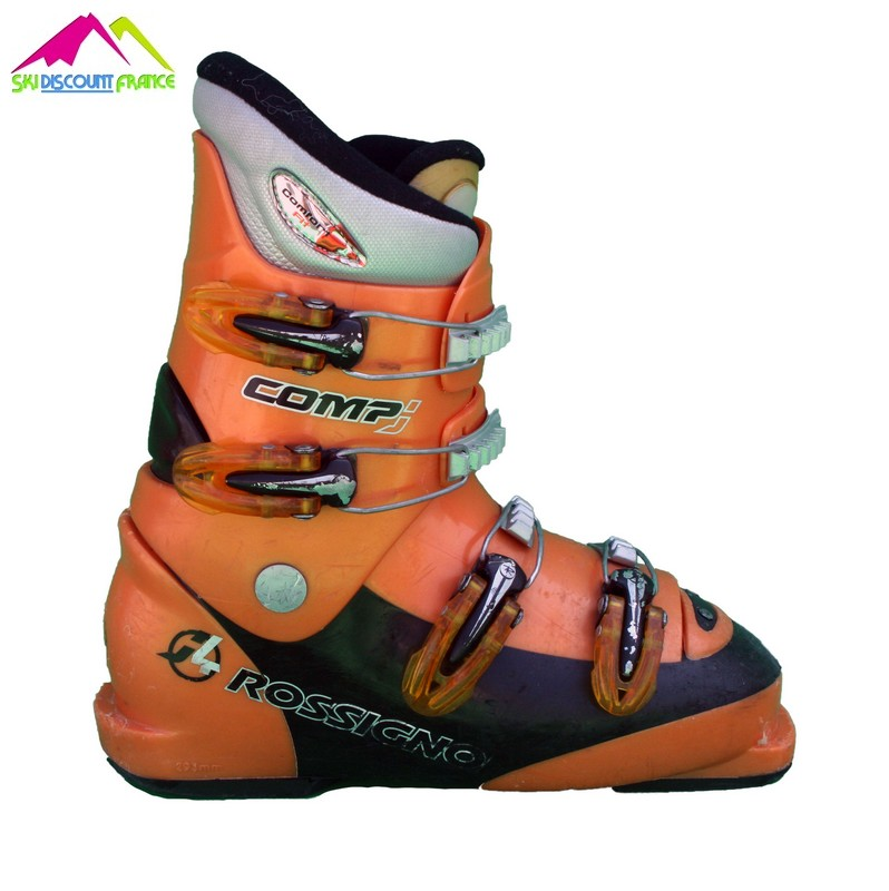chaussures de ski junior occasion rossignol comp j4 orange