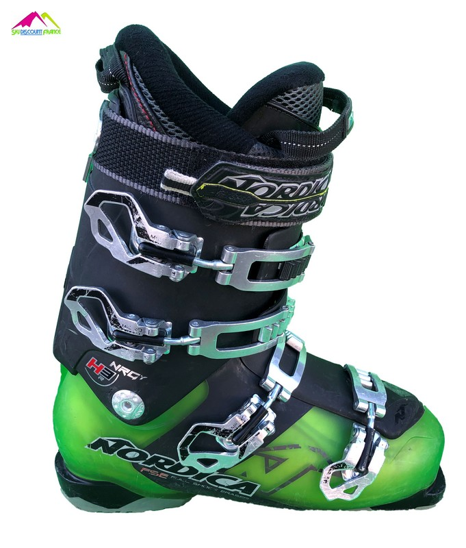 chaussures de ski occasion nordica nrgy hr3 green
