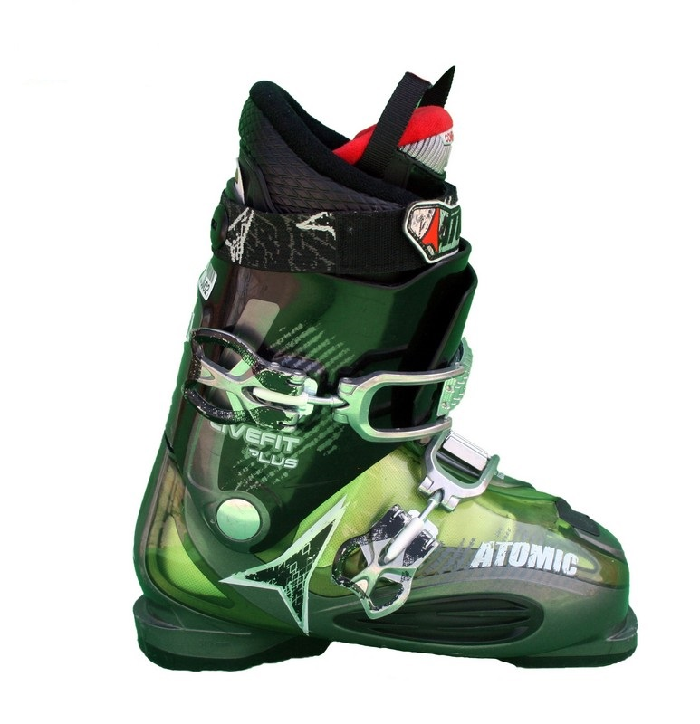 chaussures de ski occasion atomic live fit grey green