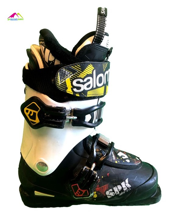 chaussures de ski freestyle salomon spk black