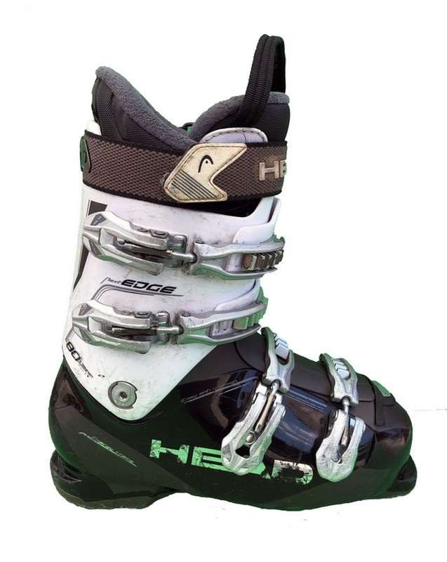 chaussures de ski occasion head next edge 80 white grey