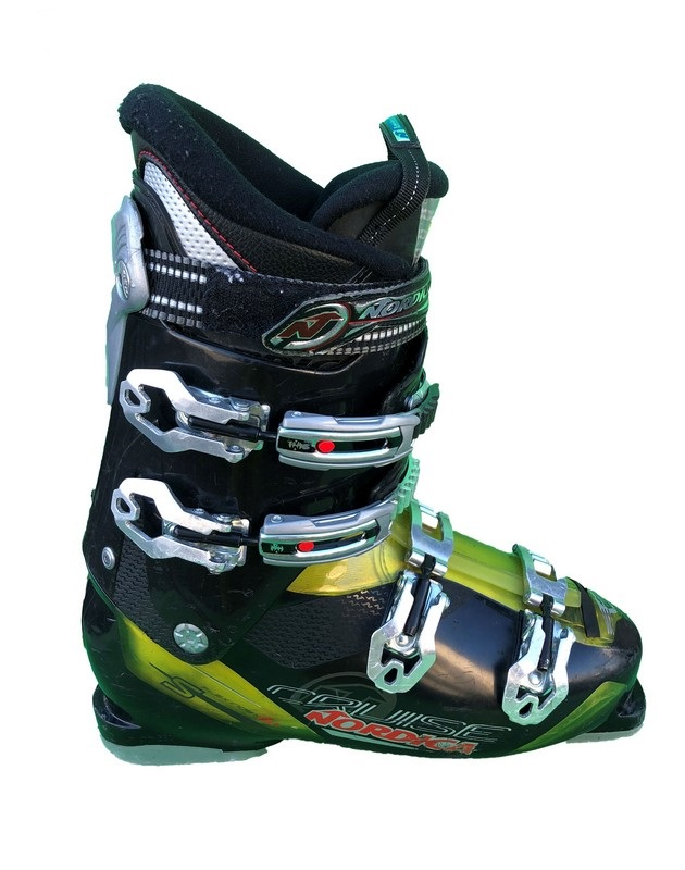 chaussures de ski occasion nordica cruise nfs black yellow