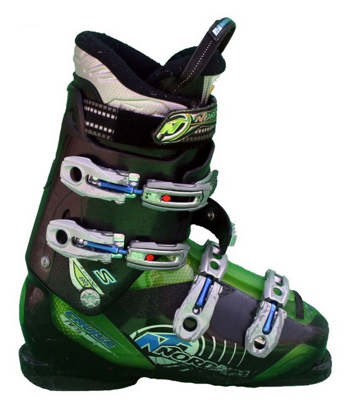 chaussures de ski occasions nordica cruise nfs black green