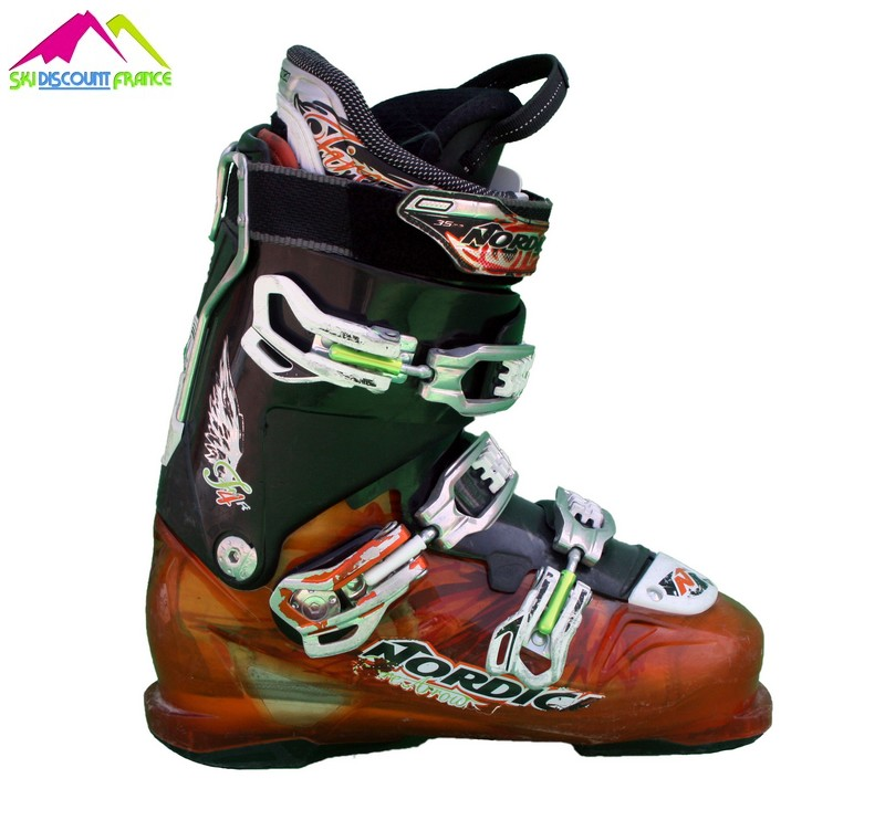 chaussures de ski occasion nordica fire arrow f4 orange