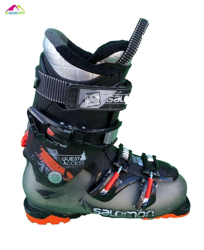 chaussures de ski salomon quest access orange