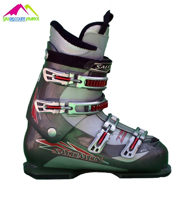 chaussures de ski occasions Salomon Mission 770 (grise rouge)