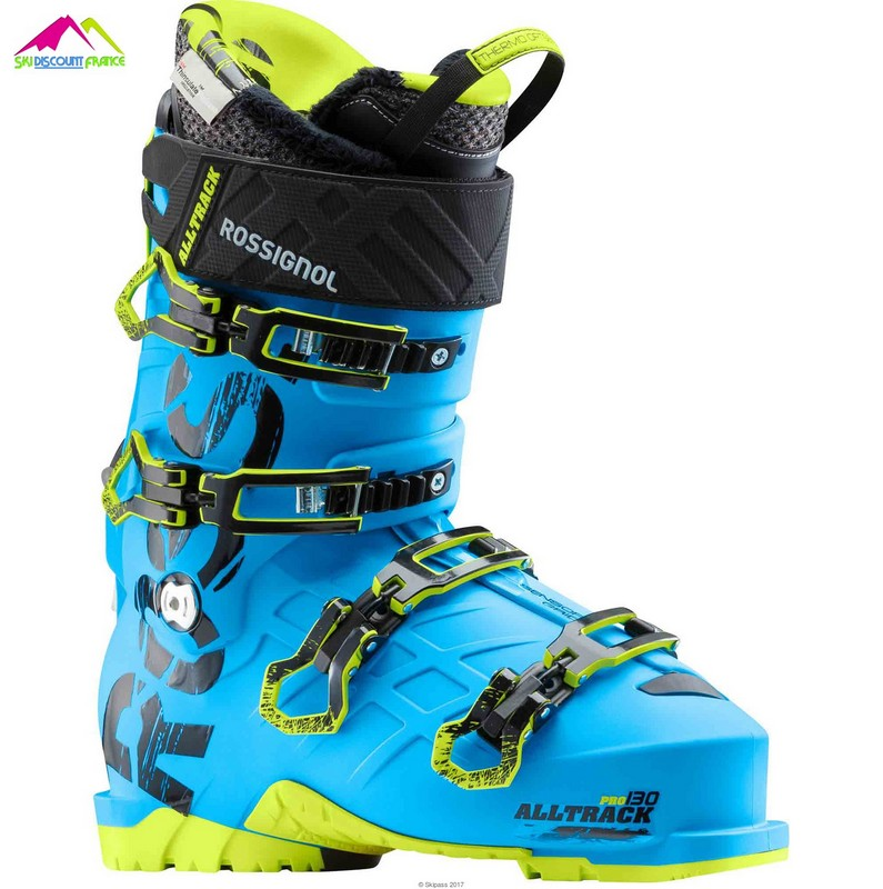 chaussures de ski expert rossignol all track pro 130 blue 2018