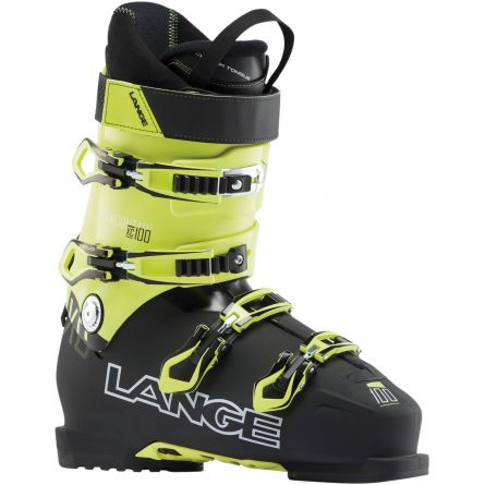 chaussures de ski lange xc100 black yellow 2019